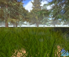 uNature - GPU Grass and Interactable Trees 2.2 beta