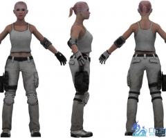 Female_Complete_01模型