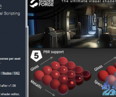 unity3d-shaderforge 1.32 最新版本