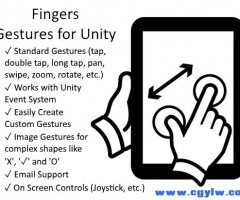 Fingers - Touch Gestures for Unity 2.3.5 unity3d asset