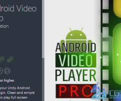WRP Android Video Player Pro 1.5 unity3d asset