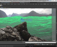 VFXlearning - Realflow 和 Maya制作水特效教程 - Getting wet with Realflow and ...