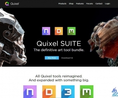 Quixel SUITE-ndo,ddo,3do游戏贴图工具包V1.8版
