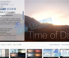 unity3d-Time of Day - Dynamic Sky Dome 2.3.5 unity3d