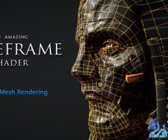 unity3d线框着色器Wireframe shader - The Amazing Wireframe shader 2.31