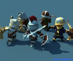 Animated Fantasy Heroes Set 1.2 unity3d asset