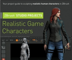 Kingslien R. - ZBrush Studio Projects Realistic Game Characters