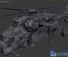 Helikopter from fear3 直升机模型